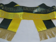 Bottle Green & Gold Bi-Sash