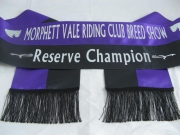 Purple/Black Bi-Sash