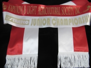 Red & White Bi-Sash