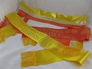 Gold/Champagne/Orange Sash Set