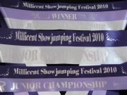 Purple/Helio/White Sash Set