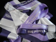 Purple/Lilac/White Sash Set