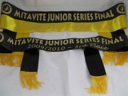 Black & Gold Sash Set