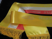 Gold/Champagne/Orange Set of Sashes