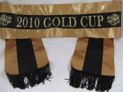 Antique Gold/Black/Antique Gold Sash