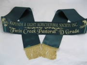 Dark Green Single Sash