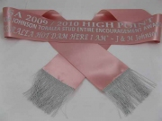 Blush Single Sash