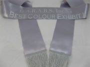 Silver Single Sash