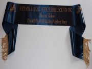 Navy Single Sash