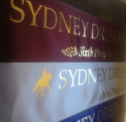 Sydney Dressage Sashes