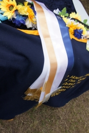 Navy/White/Gold Sashes