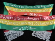 Tri-Colour Award Sashes