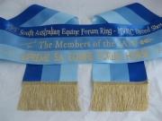 Royal Blue/Sapphire/Saxe Tri-Sash