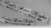 Mother of the Bride Sash & Flower Girl Sash