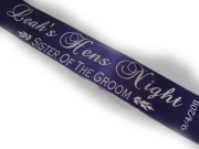 Sister of the Groom Sash