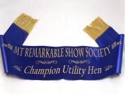 Agricultural Show Award Sash