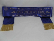 Dog Club Award Sash