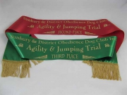 Dog Club Award Sashes