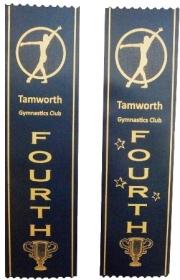 Gymnastics Award Ribbons