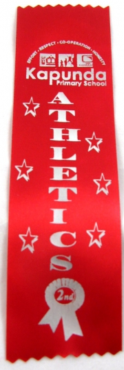 Second Place Award Ribbon