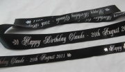 Birthday Wrapping Ribbon & Cake Ribbon