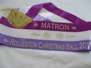 Matron of the Ball Shoulder Sash