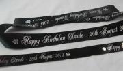Birthday Wrapping Ribbon & Cake Ribbon