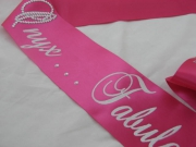 Special Occasion Shoulder Sash - with Bling
