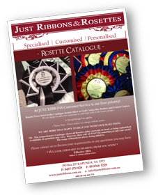 Just Ribbons Catalogue