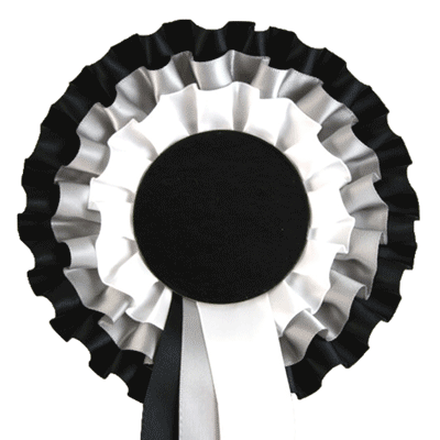 Black And White Rosettes Pictures to Pin on Pinterest ...